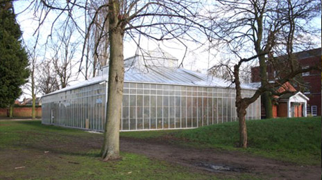 The Lawn greenhouse